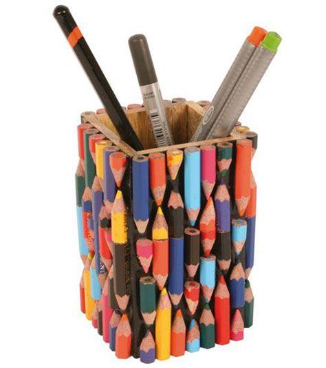 Színes ötletek színes ceruzákkal - A képkeretektől a tolltartókig - Színes Ötletek Blog