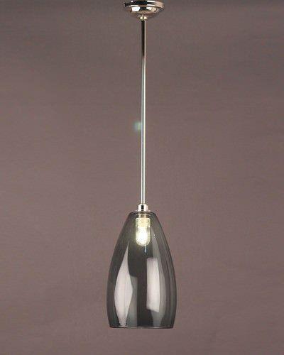 Smoked Glass Pendant Ceiling Bathroom Light Upton Retro Contemporary Design Ip44 Rated Glass Pendant Lighting Kitchen Smoked Glass Ceiling Pendant Lights