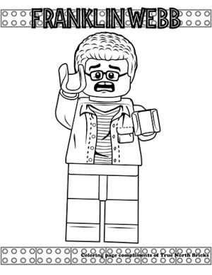 Jurassic World Dr Wu Giveaway True North Bricks Lego Coloring Pages Dinosaur Coloring Pages Lego Coloring