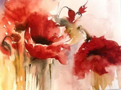 Resultado De Imagen De Yuko Nagayama Acuarelas Floral Watercolor
