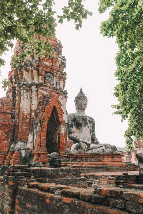 Inside The Ancient Kingdom Of Ayutthaya, Thailand