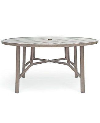 Furniture Wayland Aluminum Outdoor 60 Modern Outdoor Dining Table Round Outdoor Dining Table Round Outdoor Table 60 round outdoor dining table
