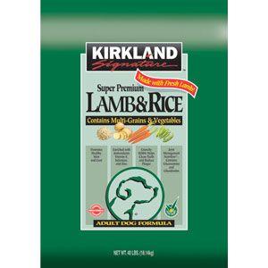 Cheapest Quality Dog Food 34 67 Kirkland Signature Dog Food Lamb