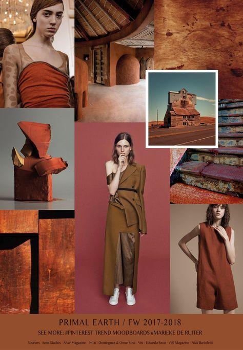 F/W women's colors trends: Primal Earth