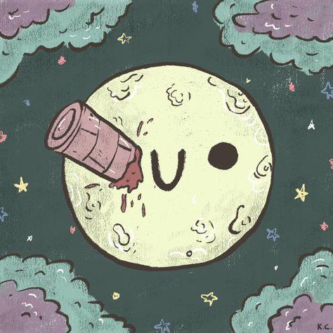 culture avec la lune
