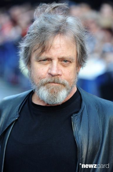 Mark Hamill at the premiere of Guardians Of The Galaxy, July 2014