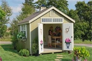 colonial williamsburg wood shed with pre cut parts we offer the very popular colonial willimasburg wood shed with pre cut part that is produced by - Garden Sheds Very