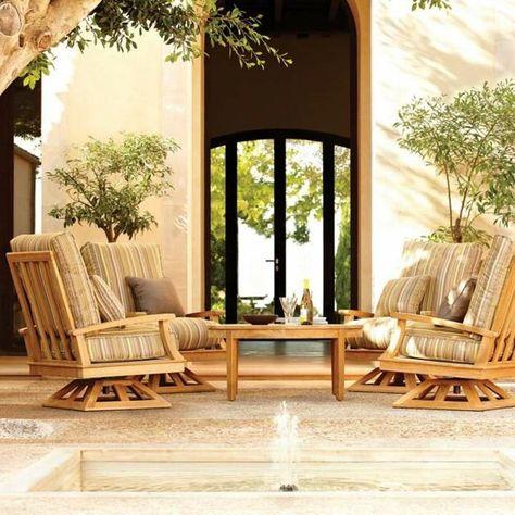 Plus de 100 idées de salon de jardin en résine, bois ou ...