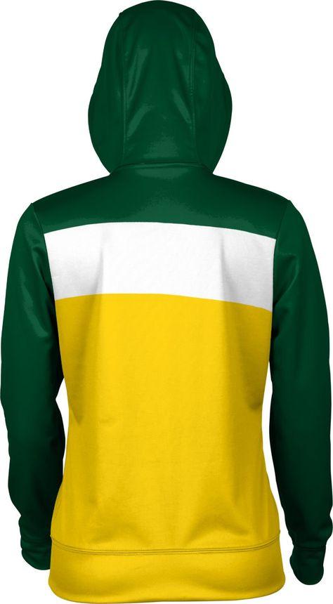 School Spirit Sweatshirt Nova Southeastern University Girls Pullover Hoodie Ombre