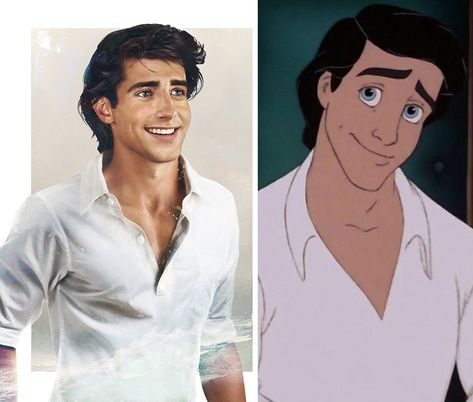 Disney Princes and Princesses in Real Life