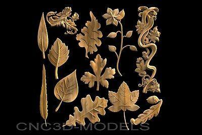 STL 3D Models # THE HUNTING FOREST # for CNC Aspire Artcam 3D Printer Engraver