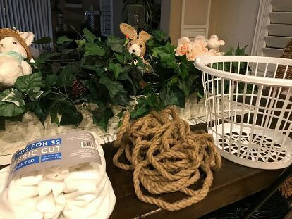 Dollar Tree Rope Basket In 2020 Rope Basket Tree Rope Basket