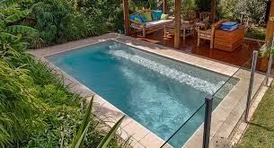 Plunge Pool Ideas For Small Backyards Swimming Pool Designs Pool Cost Lap Pools Backyard