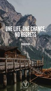 20 Quotes About Living Life To The Fullest With No Regrets  Check out these quotes about living with NO REGRETS! live your life to the fullest!    This image has get 12 repins.    Author: Izzy #Fullest #Life #Living #quotes #regrets