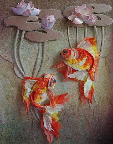Открытки поздравления, открытка рыбка своими руками