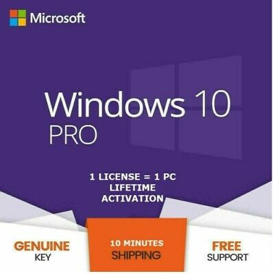 Ebay Link Ad Windows 10 Pro 32 64 Bit License Key Online Activation Instant Delivery In 2020 Microsoft Windows Windows 10 Windows