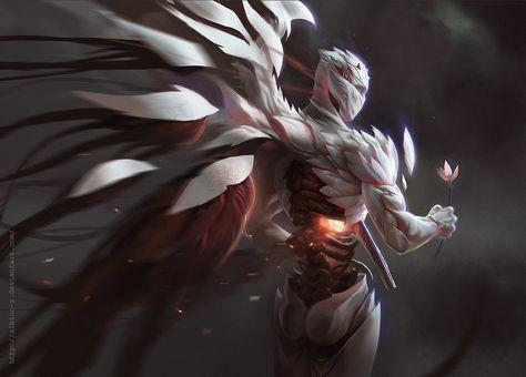wallpapers anime angeles oscuros - Buscar con Google