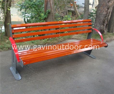 Enjoyable Wood Patio Benches Outdoor Solid Wood Bench With Back View Machost Co Dining Chair Design Ideas Machostcouk