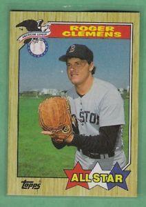 1991 Fleer Roger Clemens Boston Red Sox 9 Of 12 Vintage