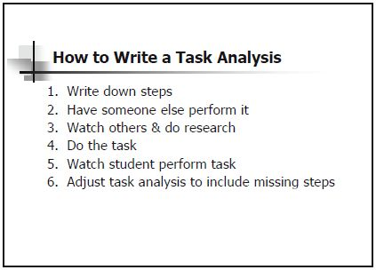 How To Write A Task Analysis | Education | Pinterest | Aba, Autism