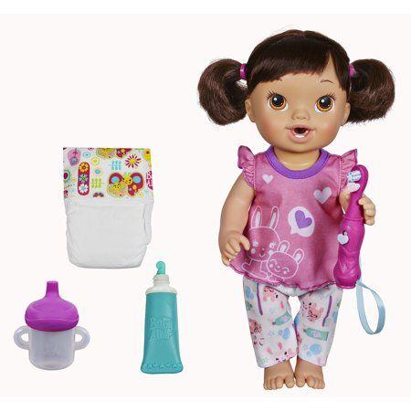 Baby Alive Brushy Brushy Baby Doll Bianca Baby Alive Dolls Modern Baby Toys Educational Baby Toys