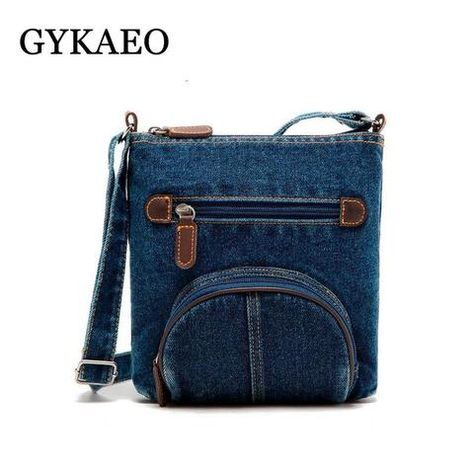 women messenger bags ladies mini small shoulder bag satchels girls crossbody  summer sling vintage bag denim bolsos sac a main 87e016b01b3a0
