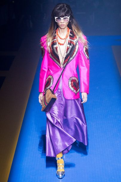 See all the Collection photos from Gucci Spring/Summer 2018 Ready-To-Wear now on British Vogue