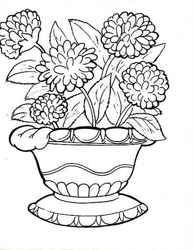 Dibujos De Plantas Ornamentales Para Colorear Flower Coloring Pages Coloring Pages Coloring Pages For Kids