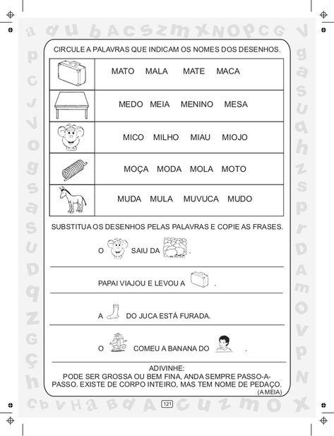 Ciranda Das Silabas Volume 3 Atividades De Alfabetizacao
