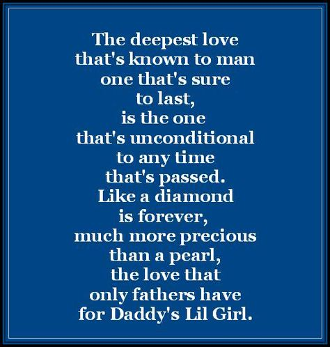 Daddy's Little Girl Quotes - Bing Images
