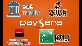 Videotuto Transfert Bancaire Paysera Vers Societe Generale Spa