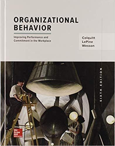 Organizational Behavior Improving Performance And Commitment In The Workplace 6th Edition Isbn 13 978 1259927669 Ebookschoice Com Organizational Behavior Organizational Psychology Textbook