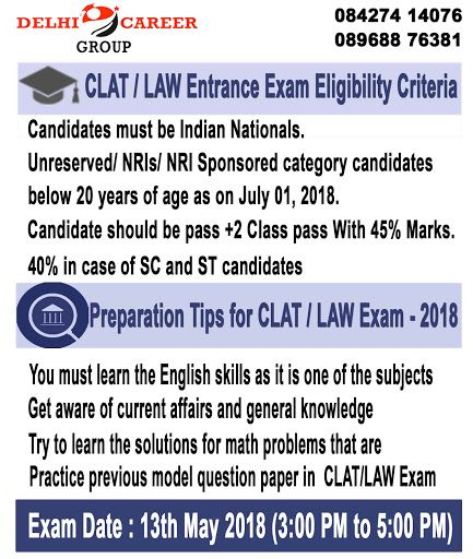 Delhi Career Group Suggests One Of The Best Clat Law Coaching In