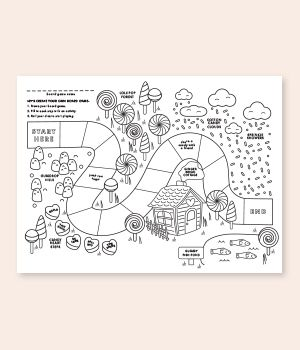Valentine Board Game Printable Valentines Day Coloring Page Valentines Day Coloring Coloring Sheets For Kids