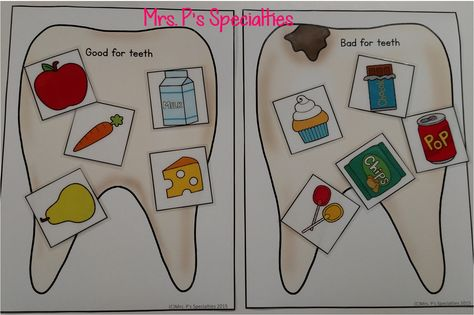 Mrs. P's Specialties!: Dental Health Lesson and a FREEBIE!