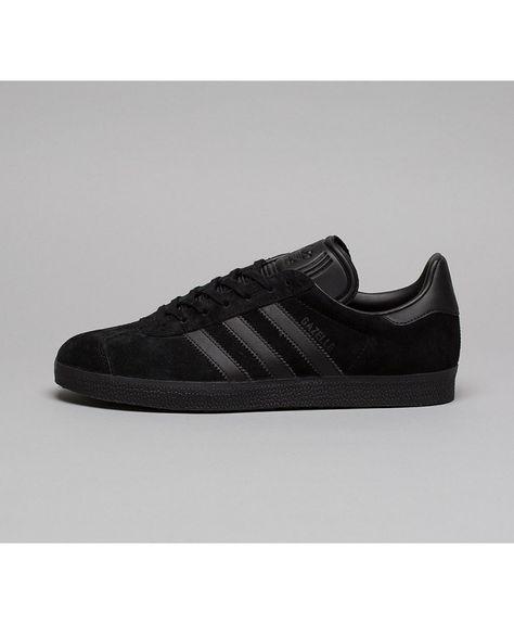 Cheap Adidas Originals Gazelle Trainer Black Black Sale UK ...