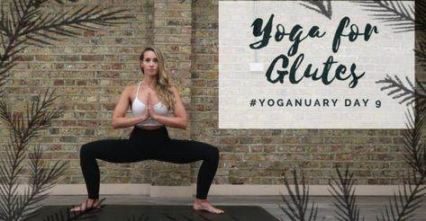 DAY 9: YOGA FOR BUMS | Yoganuary Yoga Challenge | CAT MEFFAN Yoga Videos
