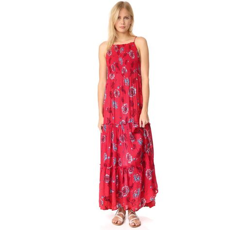 a977b58dbdc Free People Garden Party Maxi Dress ( 128) ❤ liked on Polyvore featuring  dresses