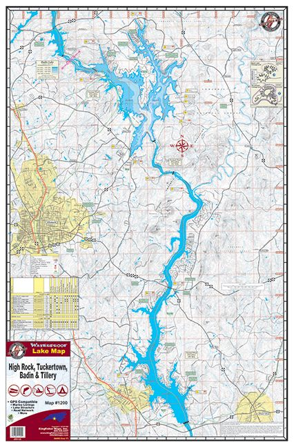 High Rock Lake , NC - Official MapQuest - Maps, Driving