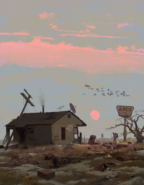 Concept Art by Erikas Perl – Inspiration Grid Concept Art Landscape, Fantasy Landscape, Landscape Art, Fantasy Art, Environment Concept, Environment Design, Art Apocalypse, Art Environnemental, Art Disney