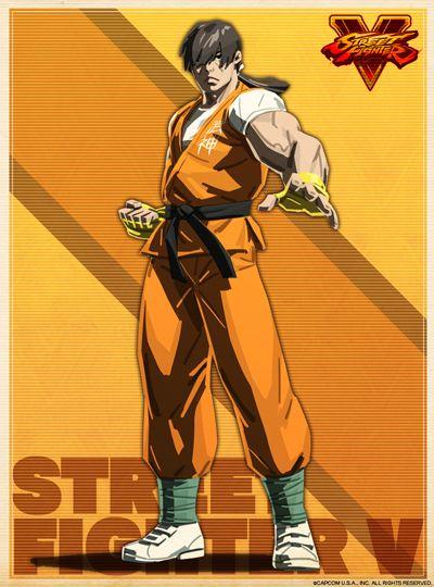 Image result for street fighter 5 character design