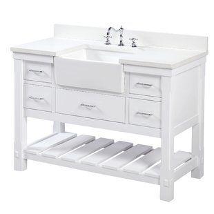 Beachcrest Home Caldwell 48 Single Bathroom Vanity Set Wayfair Single Bathroom Vanity Double Vanity Bathroom Kitchen Bath Collection