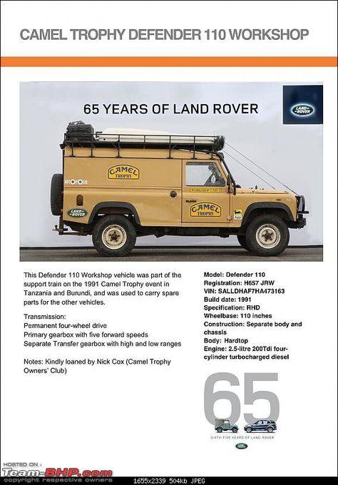Land Rover Defender 90: Camel Trophy Pics | 4x4 | Jaguar