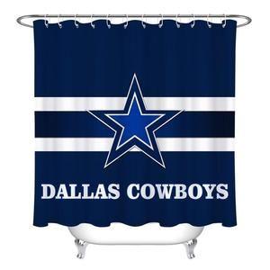 Dallas Cowboys Multi Design Shower Curtains Alittlesomething Org Curtains Dallas Cowboys Shower Curtain