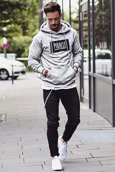 Choisir et porter un hoodie homme   Sweat