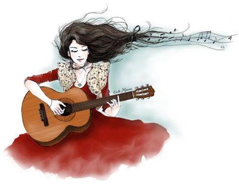 Seja Fiel Aos Seus Valores Desenho Violao Desenho Musical E