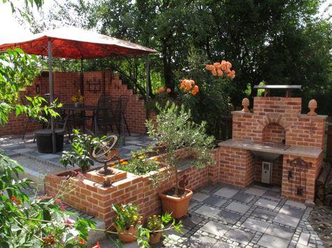 Toll Fur Den Hof Grillplatz Im Garten Garten Gartengestaltung