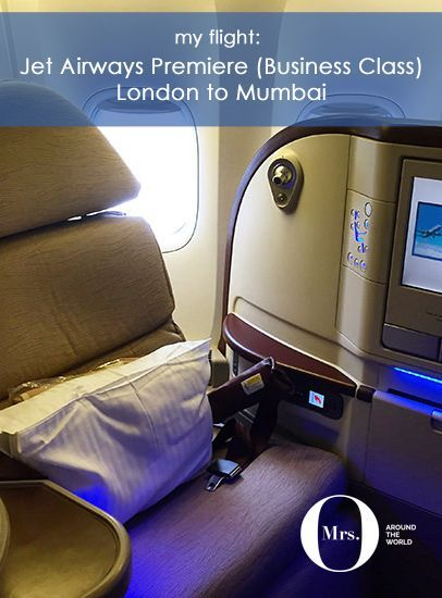 Jet Airways Premier Business Class Review London To Mumbai Business Class Business Classes Traveling By Yourself