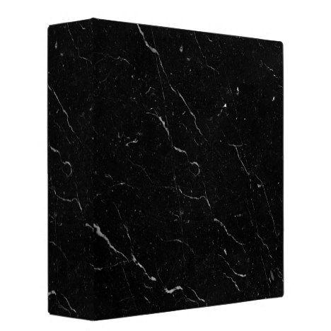Luxe Black Marble 3 Ring Binder Zazzle Com Black Marble 3 Ring Binders Diy Marble