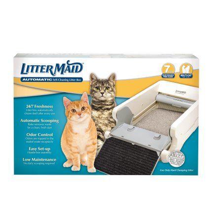 Littermaid Mega Classic Self Cleaning Litter Box Walmart Com Self Cleaning Litter Box Litter Box Cat Litter Box